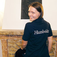 humboldt institute polo shirt
